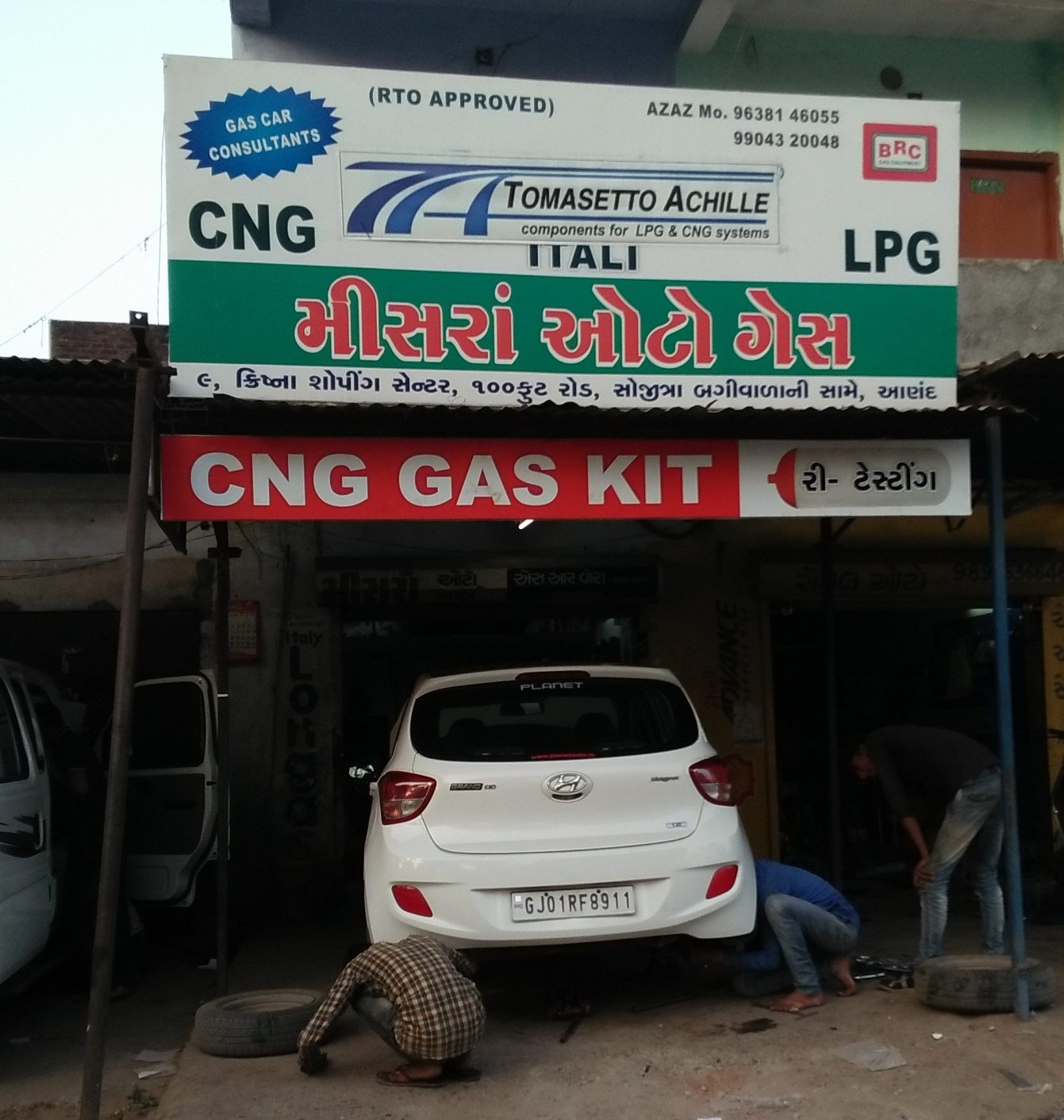 Misra Auto Gas - Leader in CNG - Gujarat - CNG Kit fitting